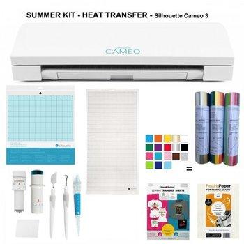 Summer Kit - Transfert Textile - Cameo 3 SILHOUETTE