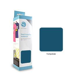 Turquoise - Flex Transfert Textile SILHOUETTE
