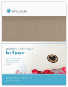 Papier Kraft Adhésif SILHOUETTE