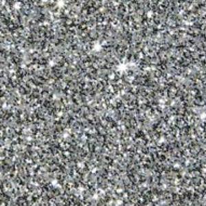 Silver - Flex Pailleté Transfert Textile