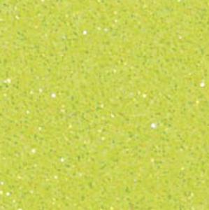 Neon Yellow - Flex Pailleté Transfert Textile