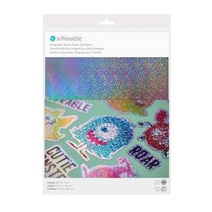Imprimable Feuilles autocollantes Holographique Pointillé SILHOUETTE