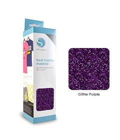Pourpre - Glitter Transfert Textile SILHOUETTE