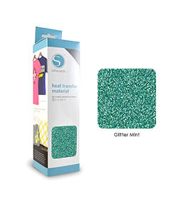 Menthe - Glitter Transfert Textile SILHOUETTE