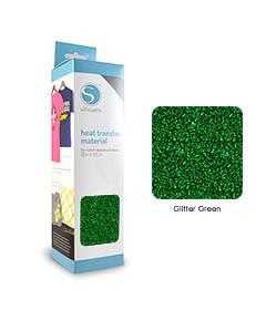 Vert - Glitter Transfert Textile SILHOUETTE