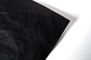 Papier Faux Cuir Noir SILHOUETTE