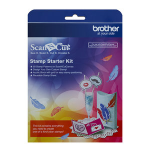 Kit de démarrage pour tampons - Brother ScanNCut