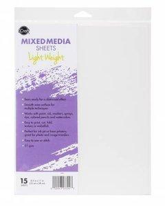iCraft Mixed Media Sheets - Lichtgewicht