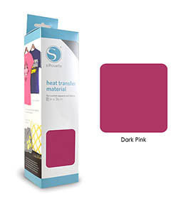 Rose Foncé - Flex Transfert Textile SILHOUETTE