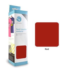 Rouge - Flex Transfert Textile SILHOUETTE