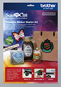 Printbare Stickerkit - Brother ScanNcut