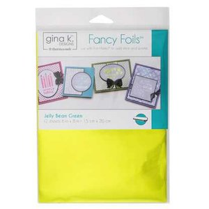 Jelly Bean Green - Gina K. Designs Fancy Foils
