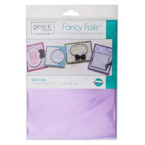 Wild Lilac - Gina K. Designs Fancy Foils