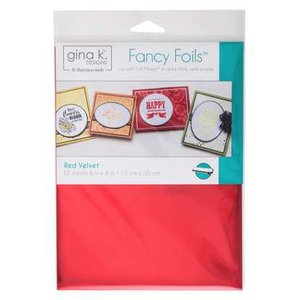 Red Velvet - Gina K. Designs Fancy Foils