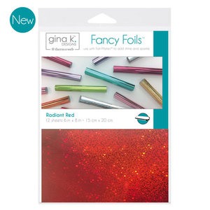 Radiant Red - Gina K. Designs Fancy Foils
