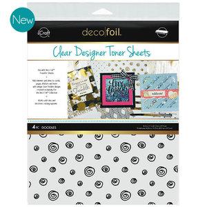 Doodles * Clear Toner Sheets - iCraft Deco Foil