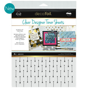 Arrows * Clear Toner Sheets - iCraft Deco Foil