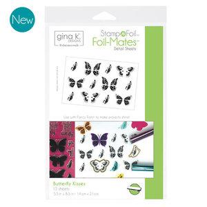 Butterfly Kisses - StampnFoil Foil-Mates Gina K Designs