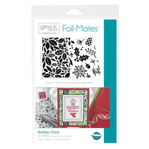 Holiday Flora - Gina K. Designs Foil-Mates Backgrounds