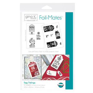 Tag Tidings - Gina K. Designs Foil-Mates