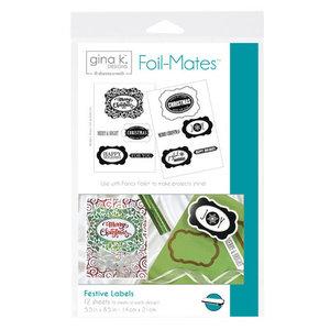 Festive Labels - Gina K. Designs Foil-Mates