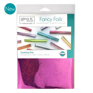 Twinkling Pink - Gina K. Designs Fancy Foils