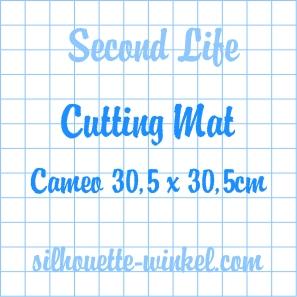 Second Life - Tapis de découpe feuilles adhés. Cameo 30,5cm (2x)