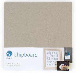 Cartonnette Grise/Chipboard SILHOUETTE