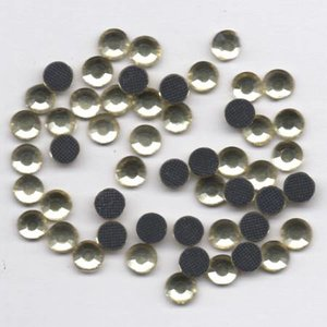 Rhinestones 5mm - Jonquil Golden Yellow