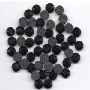 Rhinestones 5mm - Jet Black