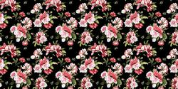 Dark Floral  - Vinyle Déco - DCWV