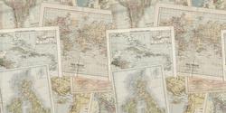 Maps - Vinyle Déco - DCWV