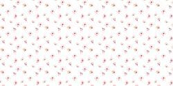 Pink Mini Floral  - Vinyle Déco - DCWV