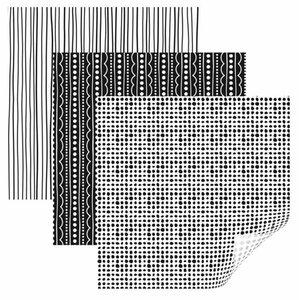 Vinyle - Echantillonneur Basique Tacheté de Pois CRICUT