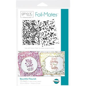 Bountiful Flourish - Gina K. Designs Foil-Mates Backgrounds