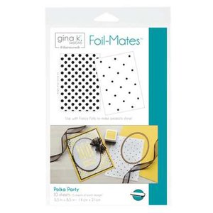 Polka Party - Gina K. Designs Foil-Mates Backgrounds