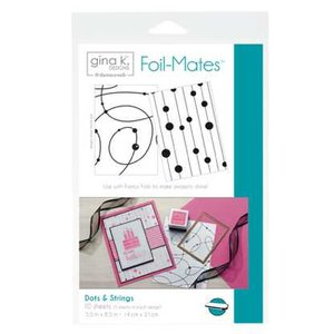 Dots & Strings - Gina K. Designs Foil-Mates Backgrounds