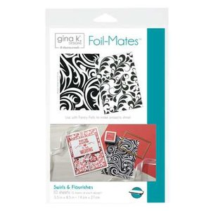 Swirls & Flourishes - Gina K. Designs Foil-Mates Backgrounds