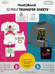 Imprimable Feuilles de Transfert (10x) - Combo Pack