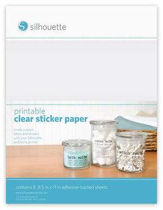 Etiquettes Transparentes SILHOUETTE