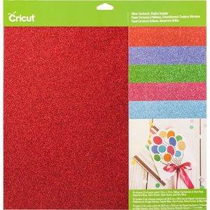 Papier cartonné à paillettes, couleurs vibrantes