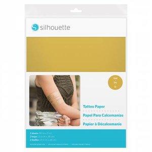 Papier pour Tatouage Or SILHOUETTE