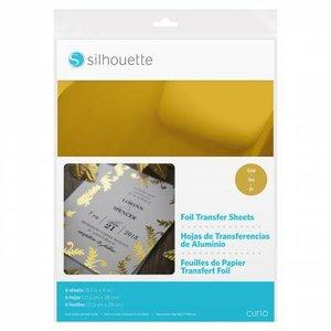 Foil Papier de Transfert - Or SILHOUETTE