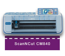 CM840 ScanNCut Brother