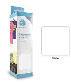 Blanc - Flex Transfert Textile SILHOUETTE