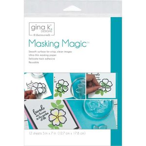 Masking Magic Sheets - Gina K Designs