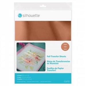 Foil Papier de Transfert - Cuivre SILHOUETTE
