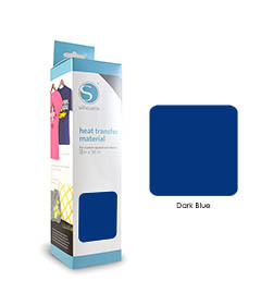 Bleu Foncé - Flex Transfert Textile SILHOUETTE