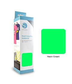 Vert Fluo - Flex Transfert Textile SILHOUETTE