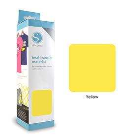 Jaune - Flex Transfert Textile SILHOUETTE